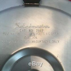 21 piece Saladmaster 18-8 Stainless Steel Tri-Clad Cookware Set+Electric Skillet