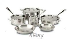 All-Clad 10 piece Cookware Set (Brand New)