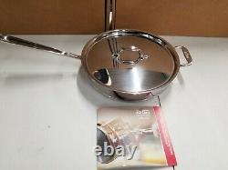 All-Clad Copper Core 14-piece Cookware Set New open box