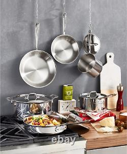All Clad D3 Stainless Steel 10-Piece Cookware Set BRAND NEW