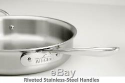 All-Clad D5 Polished 18/10 Stainless 5-Ply Bonded Cookware Set (Your Choice)