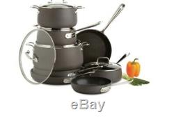All-Clad HA1 Nonstick Hard Anodized 13 Pc Piece Cookware Set E8OOSB64