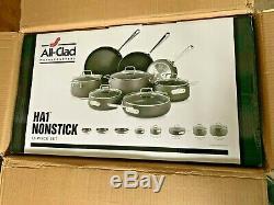 All-Clad Nonstick Cookware Set, Pots and Pans Set, 13 Piece, Hard Anodized, HA1