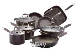 Anolon Advanced 8 Piece Cookware Set Rrp$999(all Stovetops Excluding Induction)