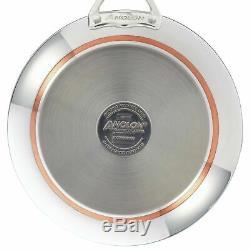 Anolon Nouvelle Copper Stainless Steel 10-Piece Cookware Set