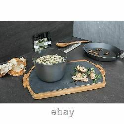 Anolon Professional 5 Piece Hard Anodised Saucepan Set Non-Stick Cookware Pans