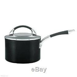 Anolon Synchrony 5 Piece Pan Set Non-Stick Hard Anodized Cookware Induction