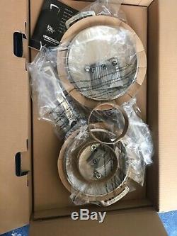 BNIB Le Creuset Toughened Non-Stick Cookware Pan Set, 4 Piece RRP £479
