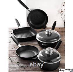 BergHOFF Champion Eurocast 7 Piece Non-stick Cookware Pan Set NEW