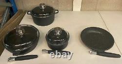 BergHOFF Eurocast Non-stick 7 Piece Cookware Pan Set D