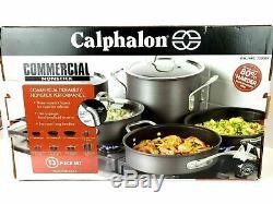 Calphalon 13-piece Commercial Cookware Set NEW O/B