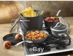 Calphalon Contemporary Cookware Set PFOA-Free Non-Stick 450F Oven Safe 8-Piece