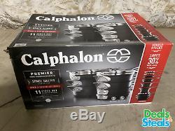 Calphalon Premier Hard Anodized Nonstick Space Saving Cookware 11 Piece Set