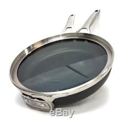 Calphalon Premier Hard Anodized Nonstick Space Saving cookware set 11-Piece NEW