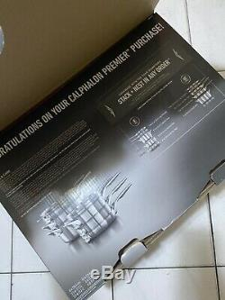 Calphalon Premier Space-Saving Stainless Steel 10-piece Cookware Set