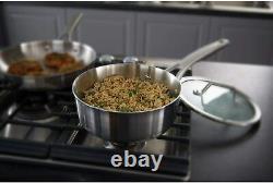 Calphalon Premier Stainless Steel 3-Ply 6-Piece Cookware Set