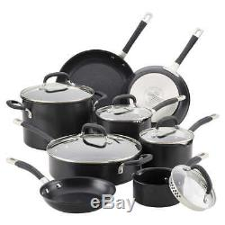 CirculonPremier Professional 13piece Hard-anodized Cookware Set Stainless Steel