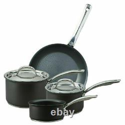 Circulon Excellence Hard Anodised 4 Piece Set Non-stick Induction Cookware Pans
