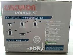 Circulon Momentum 5 Piece Cookware Set