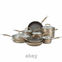 Circulon Premier Hard 13 Piece Set Bronze Anodised Cookware Non Stick Set home