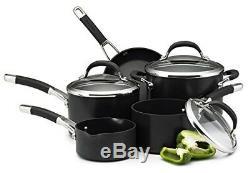 Circulon Premier Professional Hard Anodised Cookware Set, Black 5 Piece