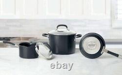 Circulon Premier Professional Hard Anodized 13 Piece Non Stick Cookware Pan Set