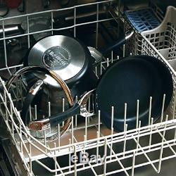 Circulon Symmetry Hard Anodized Nonstick 11-Piece Cookware Set