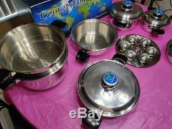 Cookworld 15 Piece Gourmet Waterless Cookware Set