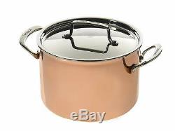 Cuisinart 40571-9993C, Tri-Ply 8 piece Copper Cookware Set