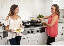 Cuisinart GreenGourmet 12-Piece Cookware Set PTFE/PFOA-Free Nonstick, Black