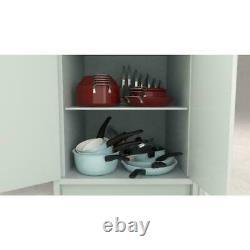 Curtis Stone 17-piece Dura-Pan Nonstick Nesting Cookware Set-Cherry Red NEW