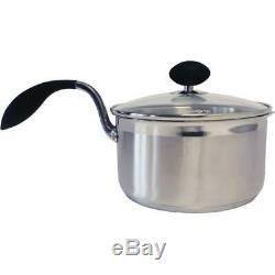 Eazigrip Stainless Steel Non Stick Cookware 10 Piece Set New