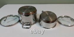 Emeril All Clad Copper Core Cookware Set 8 Pieces