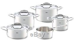 Fissler Riva 5 Piece Cookware Set Stainless Steel Induction From Selfridges Home
