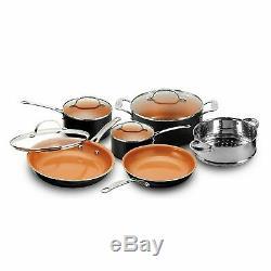 Gotham Steel 20 Piece All in One Kitchen Nonstick Cookware & Bakeware Set NEW