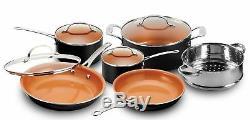Gotham Steel Complete Kitchen in a Box, Nonstick 20 Piece Ceramic Cookware Set