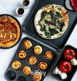 Granite Stone 20 Piece All in One Kitchen, Nonstick Cookware & Bakeware Set, NEW