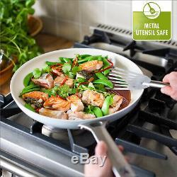 GreenPan 10 Piece Nonstick Cookware Set, Minerals Coating