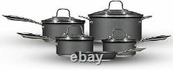 Hairy Bikers Forged 5 Piece Pan Set Non-stick Induction Saucepan Cookware