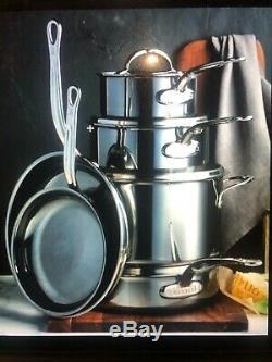 Hestan Nanobond 10 Piece Cookware set