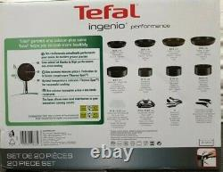 Ingenio Performance l6547802 20 piece Cookware Set