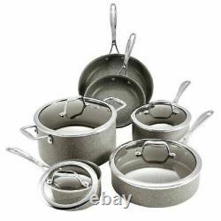 J. A. Henckels International 10-piece Capri Granitium Nonstick Cookware Set NEW