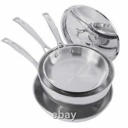 J. A. Henckels International 10-piece Tri-ply Real Clad Stainless Cookware Set