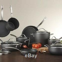 Kirkland New Signature Hard-Anodized Aluminum Cookware 15 Piece Set Brand NEW