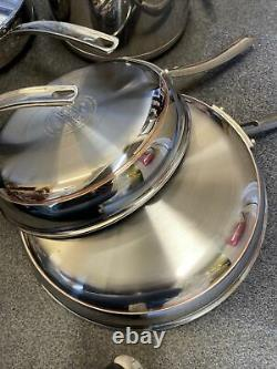 Kirkland Signature Stainless Steel 10 Piece Cookware Set Ref 37566