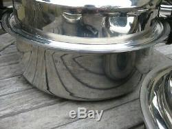 Kitchen Craft 5 Ply Stainless Steel Cookware Set 11 Pieces Made In USA