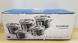 Le Creuset Stainless Steel Cookware Set, 5 Pieces
