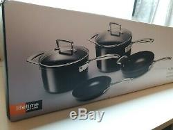 Le Creuset. Toughened Non-Stick 4 Piece Cookware Set