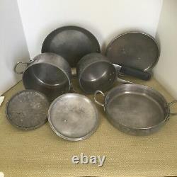 Magnalite GHC Aluminum Camping Pots/Pans 7 Piece Set