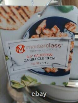 Masterclass 13 Piece Premium Cookware/Bakeware Set Speckled Beige/Grey BNWT